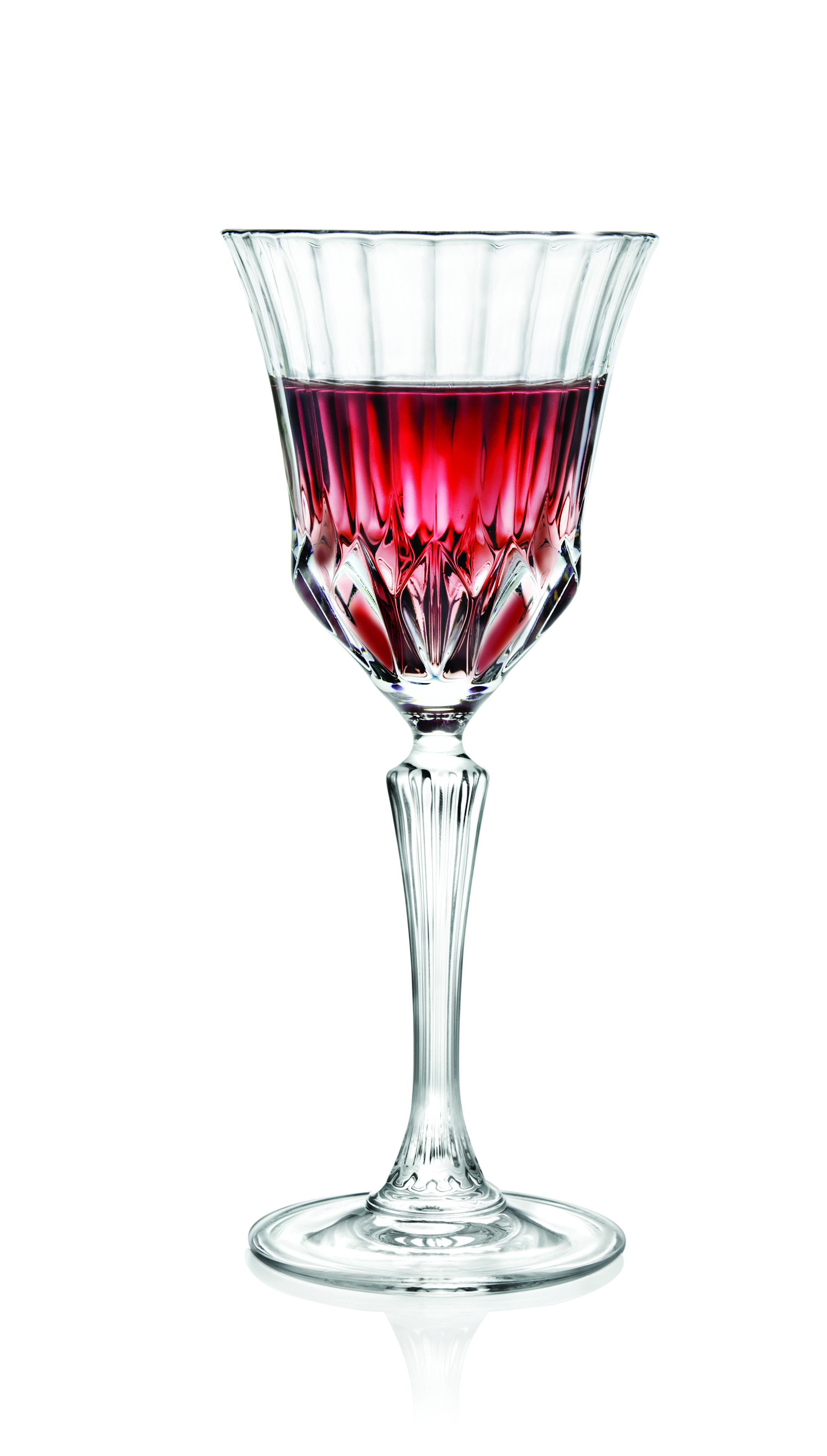 意大利RCR无铅水晶玻璃刻花葡萄酒杯