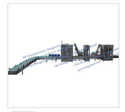 YGF-2W/30 双头自动称重灌装+压内塞+旋盖生产线