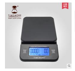 TIMEMORE手冲咖啡电子称 智能厨房电子秤 专业吧台称 带计时功能