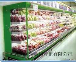 水果风幕展示柜