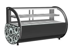 SEEPEC/希派克 台式单层黑色圆弧展示热柜SE-RTA2