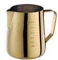 專業厚款附刻度標拉花杯950ml 鍍鈦金 HC7091