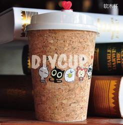 卖萌 show meng 软木咖啡杯 精品咖啡店推荐咖啡杯