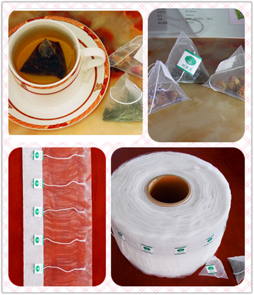 三角袋泡茶包无纺布包装材料