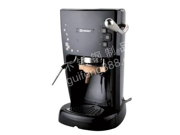 半自动压包式咖啡机