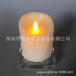 仿真LED火焰摇摆蜡烛