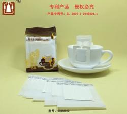 50枚挂耳咖啡滤袋日本进口材质咖啡过滤纸滴漏式手冲咖啡滤纸包邮