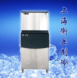 衡岳制冰机厂家直销300P大型商用奶茶店酒吧酒店方冰机136公斤