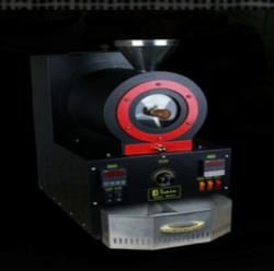 台灣Train火車頭品牌300g机電熱式咖啡烘焙机帶燃燒濾煙設計