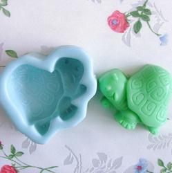 妮可H0046 DIY小乌龟硅胶香皂皂模手工皂精油皂蜡烛烘焙模具