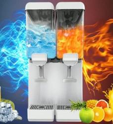 东贝饮料机商用冷热全自动 冷饮机双缸自助果汁机 制冷奶茶机36L