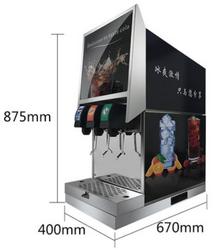 东贝可乐机商用全自动碳酸饮料机百事可乐雪碧现调机冷饮机果汁机