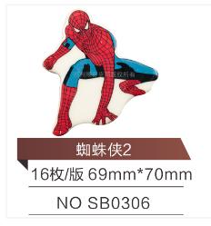 蜘蛛侠 巧克力装饰