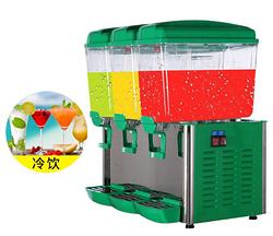 佛山科酷电器三缸饮料机商用果汁机冷热双温自助餐冷饮机豆浆