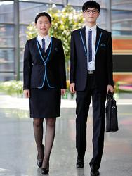 上海国际机场职业服设计