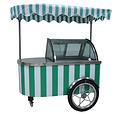 冰淇淋推车展示柜-B5 沙滩车冰淇淋展示柜
