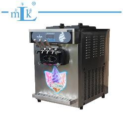 直角台式不锈钢冰淇淋机