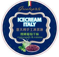 朗姆酒葡萄干冰淇淋