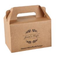 西点食品包装盒手提盒