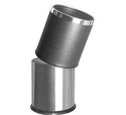 LJT090 金属包皮不锈钢内胆垃圾桶