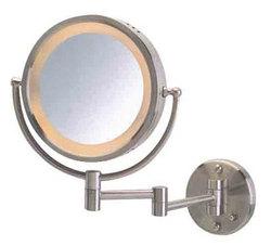 MRJ002 9旋转带灯美容镜