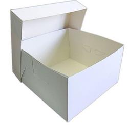 白色象牙板婚礼蛋糕盒