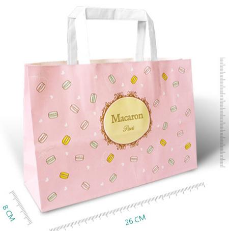 手提牛皮纸袋5#-法国甜心