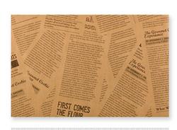 毯纹淋膜装饰纸-英文版(咖)