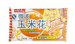 美日加微波玉米花130克(奶油甜味)