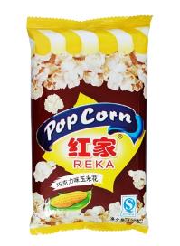 红家牌微波玉米花120克(巧克力味)