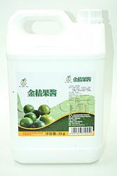 果汁糖浆-金桔果酱5kg