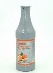 果汁糖浆-鲜橙果粒酱