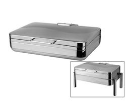 高档餐炉系列(长方形餐炉-不锈钢盖餐炉)