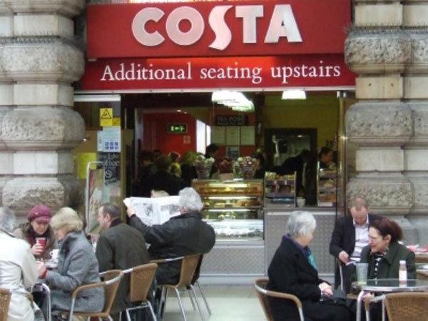 Costa,Costa Coffee,Costa 将全资拥有南方市场的所有门店 计划5年内扩张到 700 家