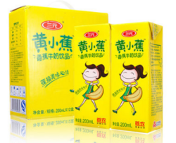 黄小蕉香蕉牛奶