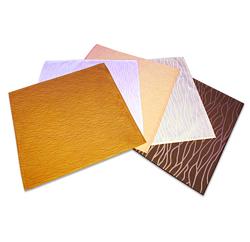 化纤双色细水纹席巾
