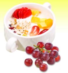水果燕麦酸奶