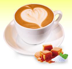 海盐焦糖latte