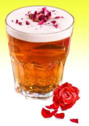 玫瑰乌龙奶盖茶