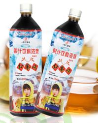 1.3L红茶味果汁饮料浓浆