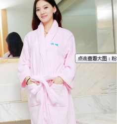 睡袍秋冬季加厚浴袍长袖