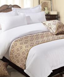 床旗床尾巾宾馆客房