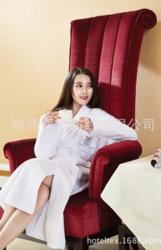 宾馆酒店华夫格浴袍