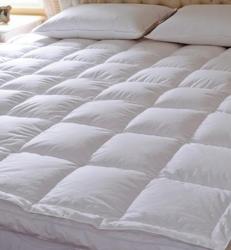 90%双层鹅绒立体床垫