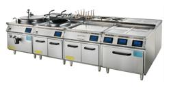 立式豪华电磁组合炉900系列