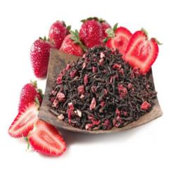 草莓普洱茶