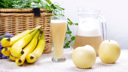 香蕉雪梨汁