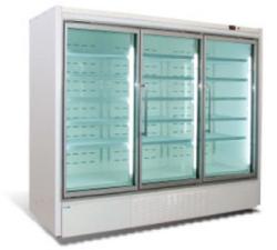 展示冷柜(与风幕柜一体组合)