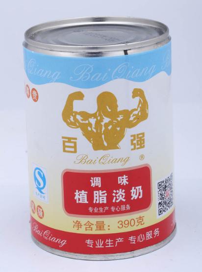 百强调味植脂淡奶