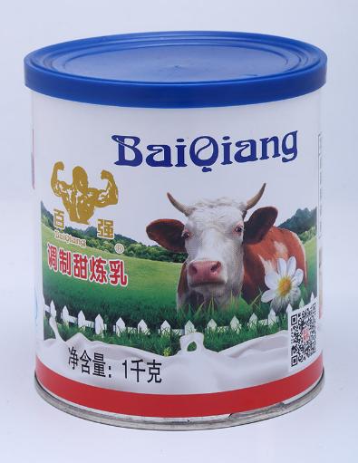 百强调味甜炼乳